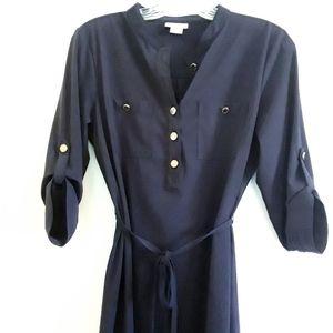 Liz Claiborne Women's Navy Dress Size 6